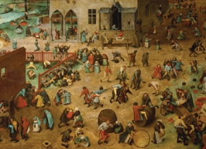 Pieter Breugel the Elder, Children's Games, 1560; Kunsthistorisches Museum, Vienna